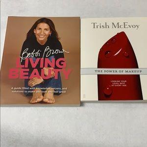 Two Makeup Books - Bobbi Brown & Trish McEvoy